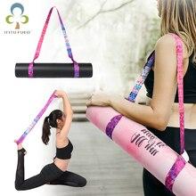 Коврик для йоги, регулируемый ремень, Спортивная с широким ремнем, наплечный ремень для переноски, пояс для упражнений, тянущиеся для фитнеса, эластичный пояс для йоги GYH