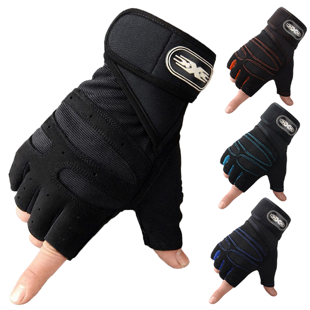 Gym-Gloves Body-Building Exercise Training Fitness Sports Women for L/XL