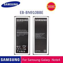 Samsung телефон Батарея EB-BN910BBE 3220 ма-ч для samsung Galaxy Note 4 N910 N910F N910A N910V N910P N910T N910H батареи