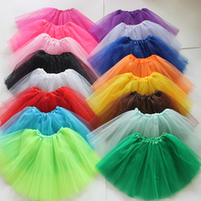Pettiskirt Tutu Dancewear Lace Mini Princess Women/adult Colorful Fancy