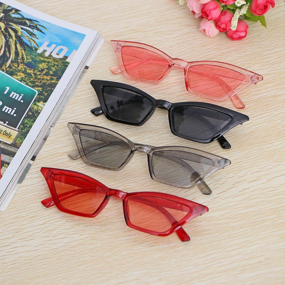 New Women Vintage Cat Eye Sunglasses Fashion Small Frame UV400 Sun Shades Glasses Street Eyewear Luxury Trending Sunglasses