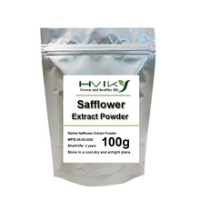 Safflower Extract Improve skin beauty treatment, reduce blood fat, blood pressure, reduce swelling and relieve pain how to reduce turbinate swelling bioelectric therapy machine laser allergy treatment