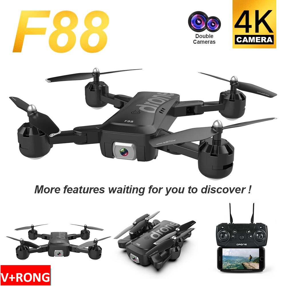 Drone F88 2020 New Drone Wireless HD Camera Function Lightweight Drone Dji Mavic Tablet Holder Smart Controller Xtactical Drone