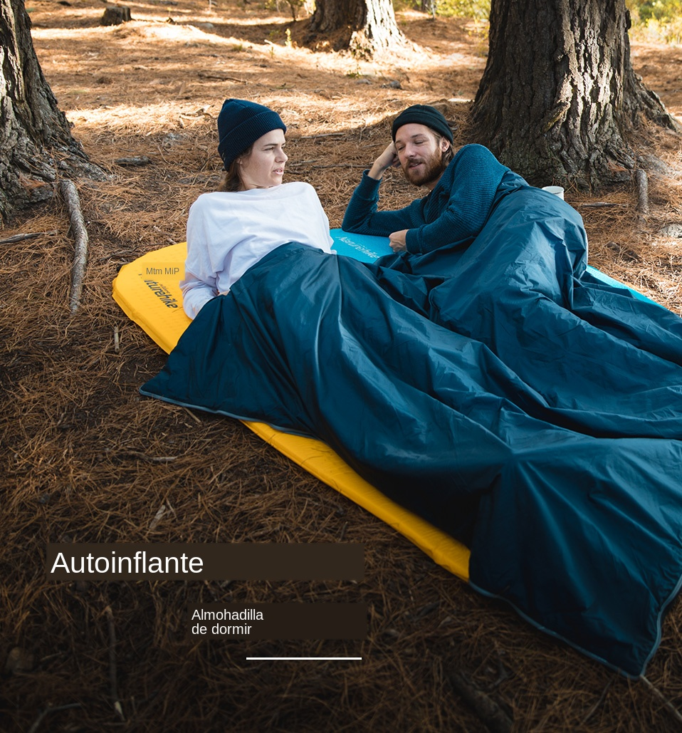 para viajes senderismo y playa Resistente a la humedad Oustt Colch/ón hinchable para camping Colch/ón de aire inflable ultraligero y peque/ño tama/ño Colchoneta aislante autohinchable