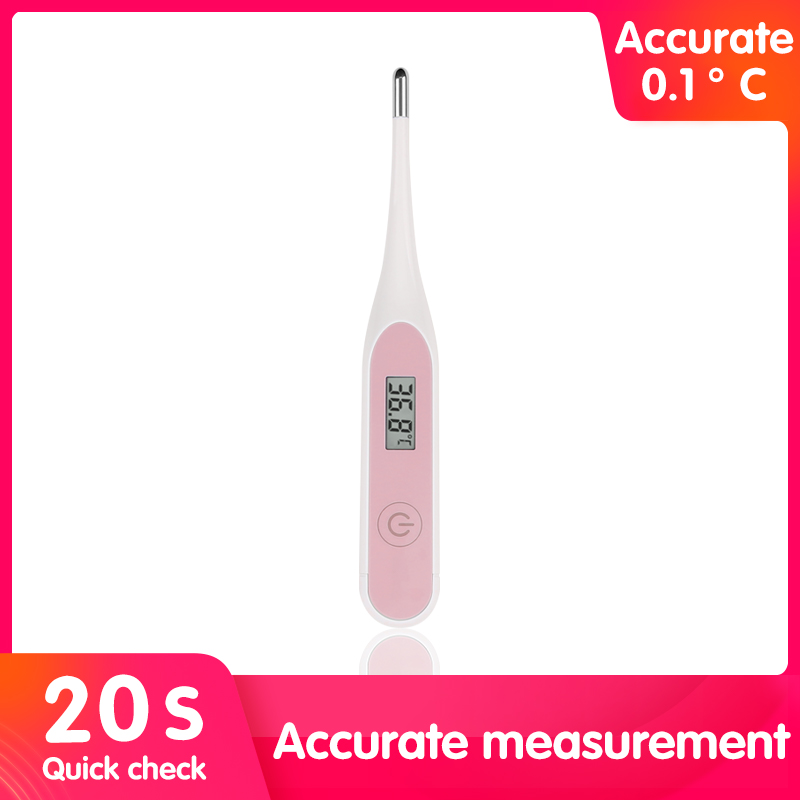 New 20s Accurate Messurement Baby/Adult LCD Thermometer Body Temperature Measurement Device Muti-fuction Digital Termometer