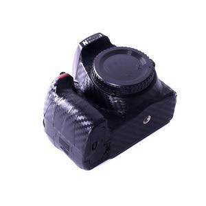 Image 3 - Naklejki na aparat naklejki z włókna węglowego odporne na zarysowania szorstkie soczewki folia ochronna naklejka na ciało do Canon Nikon Sony all Camera