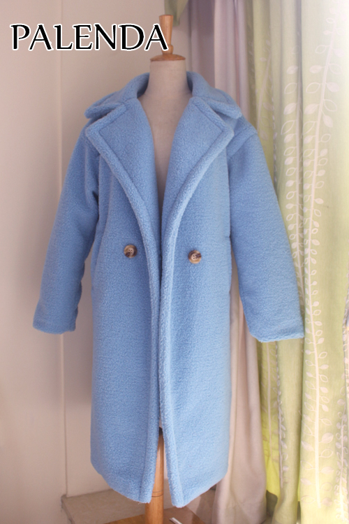 19 new teddy coat faux fur long coat women lamb fur coat 10 color thick coat 14