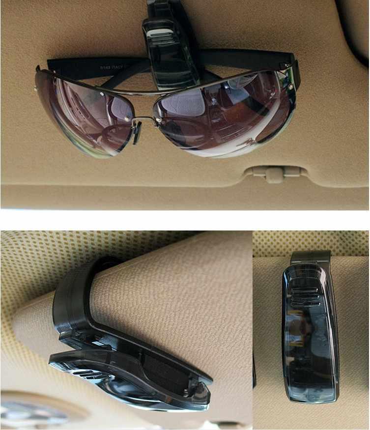Auto bril clip Glazen Houder voor Jaguar XF XJ XJS XK S-TYPE X-TYPE XJ8 XJL XJ6 XKR XK8 X320 X308 auto Accessoires