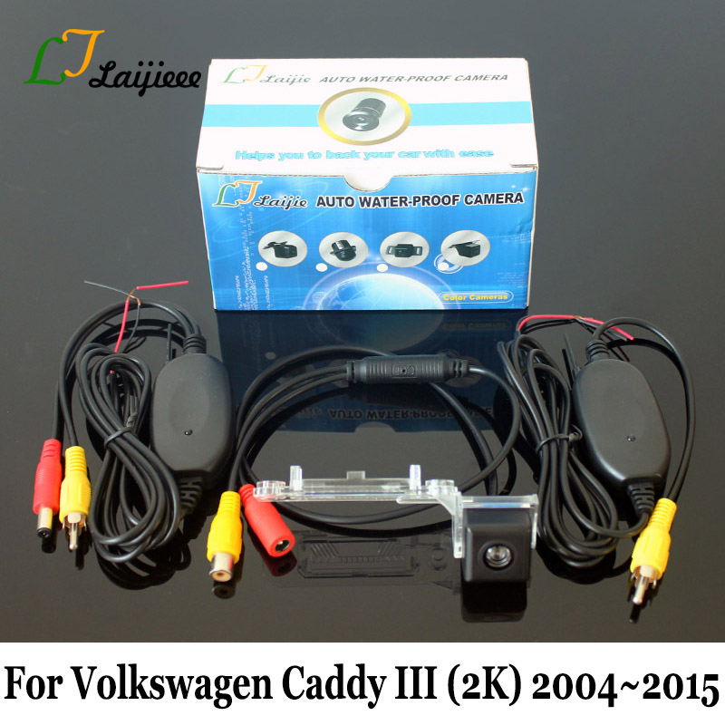 For Volkswagen VW Caddy III 2K 2004 2005 2006 2007 2008 2009 2010 2011 2012 2013 2014 2015 Car Rear Reversing Camera / HD Night Vision Auto Wireless Rearview Camera