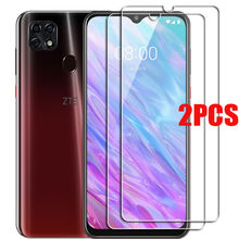 2PCS FOR ZTE Blade A3 A5 A7 2020 2019 Tempered Glass Protective on ZTE Blade 20 smart V10 Vita Screen Protector Glass Film Cover