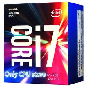 Image 2 - Processador intel core 7 series, processador i7 7700 I7 7700 cpu boxed lga 1151 land FC LGA 14 nanômetros quad núcleo cpu