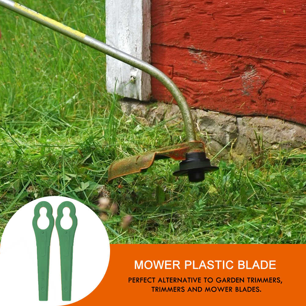 100 adet Florabest LIDL FRTA 20 A1 Lidl IAN 282232 yedek plastik kesici bıçakları Florabest çim makası Brushcutte