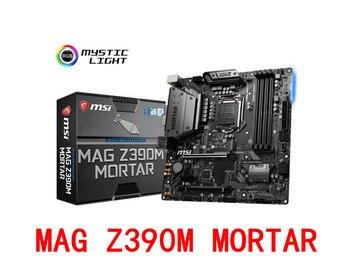 MAG Z390M MORTAR motherboard +I7-9700K I9-9900K CPU motherboard + CPU set