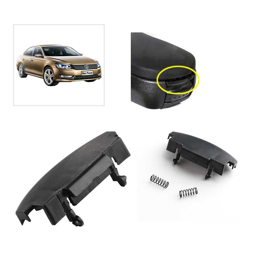 1 adet araba merkezi kol dayama kutusu toka merkezi konsol kapak mandalı klip Golf Mk4 VW Jetta Bora oto yedek aksesuarları