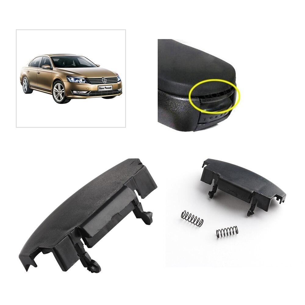 Caja para reposabrazos Central de coche, 1 pieza, hebilla, tapa de apoyabrazos, cierre Central, Clip para Golf Mk4 VW Jetta Bora, accesorios de repuesto para automóvil