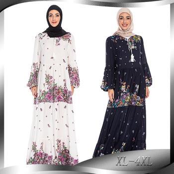 Abaya Turkey Islamic Arabic Muslim long Dress Caftan Dubai Kaftan Moroccan Arab Tesettur Elbise Vestidos Robe Dress a1282