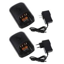 Us/Eu Plug WPLN4226 Batterij Lader Snel Opladen Base Voor Motorola DP2400 Radio 40JB