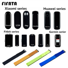 Fifata Nylon Canvas Arm Pols Band Voor Xiaomi Mi Band 4 3 2 1 Voor Fitbit Charge2 3 Inspire Alta voor Huawei Band 3E 4E Foot Strap