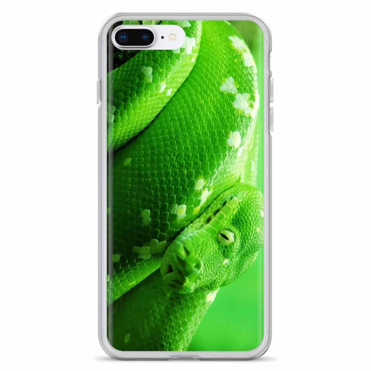 עבור Sony Xperia Z5 XZ XA1 XA2 פרימיום ULTRA 10 X L2 ירוק נחש דפוס פוסטר סיליקון מעטפת כיסוי