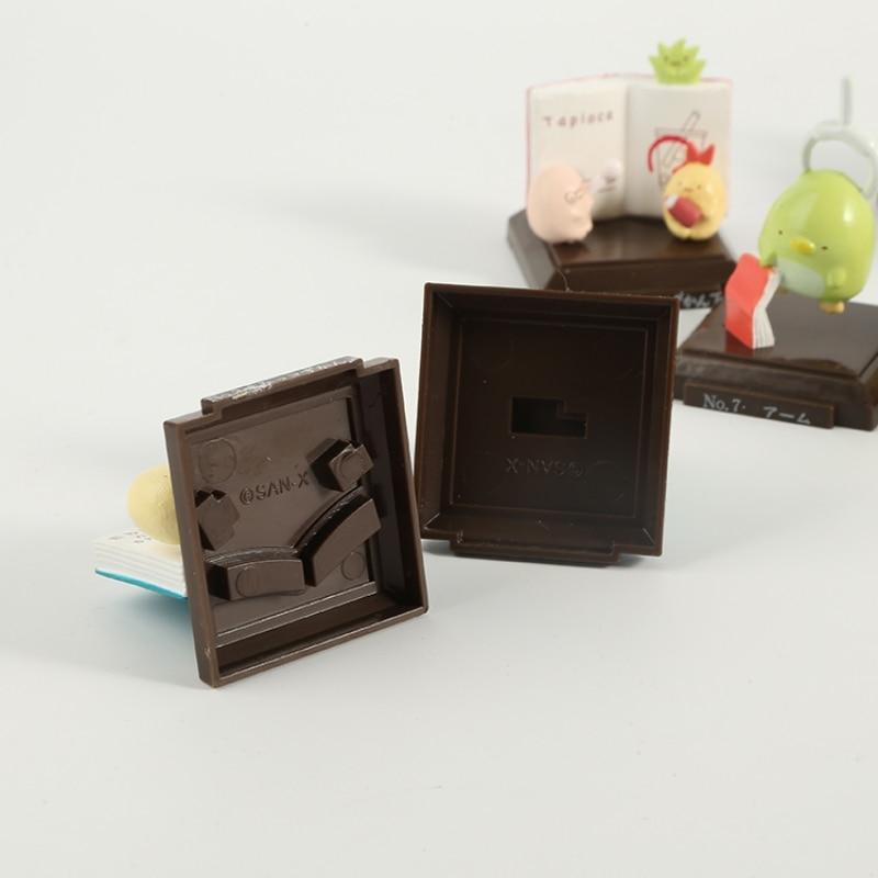 8 Pc Cute cartoon sumikko gurashi Doll Decoration Hand-made Model Cartoon Blind Box Gift-5