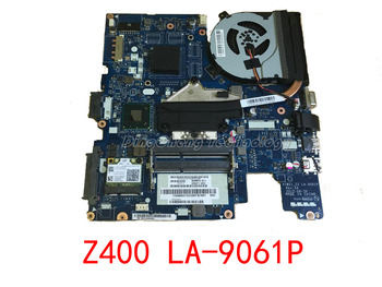 HOLYTIME laptop Motherboard For Lenovo Z400 VIWZ1 Z2 LA-9061P 04W4140 HM76 HD4000 integrated graphics card 100% fully tested
