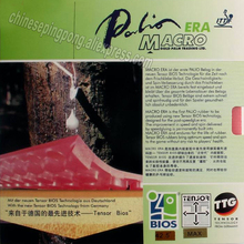 Palio official MACRO ERA bios table tennis rubber astringent high speed and spin made in Germany fast attack with loop