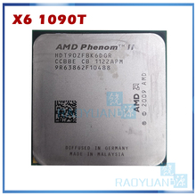 AMD Phenom X6 1090T X6-1090T 3.2GHz Zes-Core CPU Processor HDT90ZFBK6DGR 125W Socket AM3 938pin