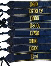 10 قطعة كاميرا الكتف حزام التطريز حزام الرقبة الرقبة حزام لنيكون D7000 D5300 D500 D610 D700 D800 D810 D4S D5 DSLR