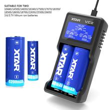 XTAR VC2 S VC2S Colorful VA LCD Screen Micro-USB powered portable power bank apply to