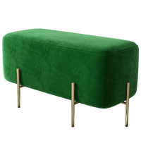Shoe stool at home entrance Living room bench Shoe stool Cloak room Fabric luxury sofa stool   -