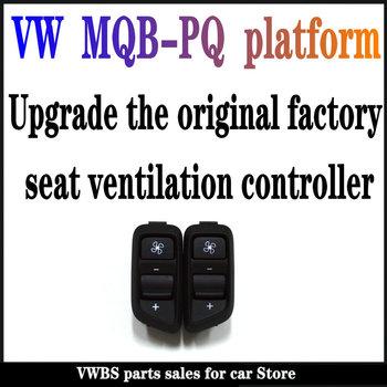 V W MQB-PQ platforma uniwersalne siedzenie wentylacja przełącznik sterowanie nadaje się do użytku W PassatB7-Golf6-Tiguan z wentylacją siedzenia tanie i dobre opinie CN (pochodzenie) Plastic and metal Klimatyzacja montaż 0 2kg Turn on ventilation 56D 959 582 581 2020