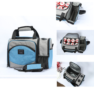 Image 3 - DENUONISS New 2020 Waterproof Picnic Bag Insulated Portable Fabric Thermal Cooler Bag Large Volume Storage Male Beer Wine Bag
