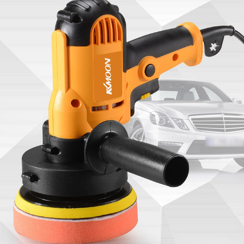 KKmoon 700W Car Polisher Machine Electric auto Polishing Machine Adjustable Speed Sanding Waxing Grinding Tools car accessorie-in Polishers from Tools on