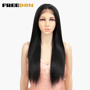 Image 5 - 自由合成レースフロントウィッグ 40 インチ晩餐ロング深い自然波オンブルブロンド 613 色の髪のかつら女性ファッション