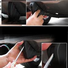 niversal Car SUV Rear Bumper Diffuser Molding Shark Fin Spoiler Protector Cover