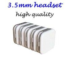 Hohe Qualität 3,5mm Kopfhörer in Ohr Kopfhörer Kopfhörer Mit Fernbedienung Mic für iphone5 5s 6 6S plus, mit paket