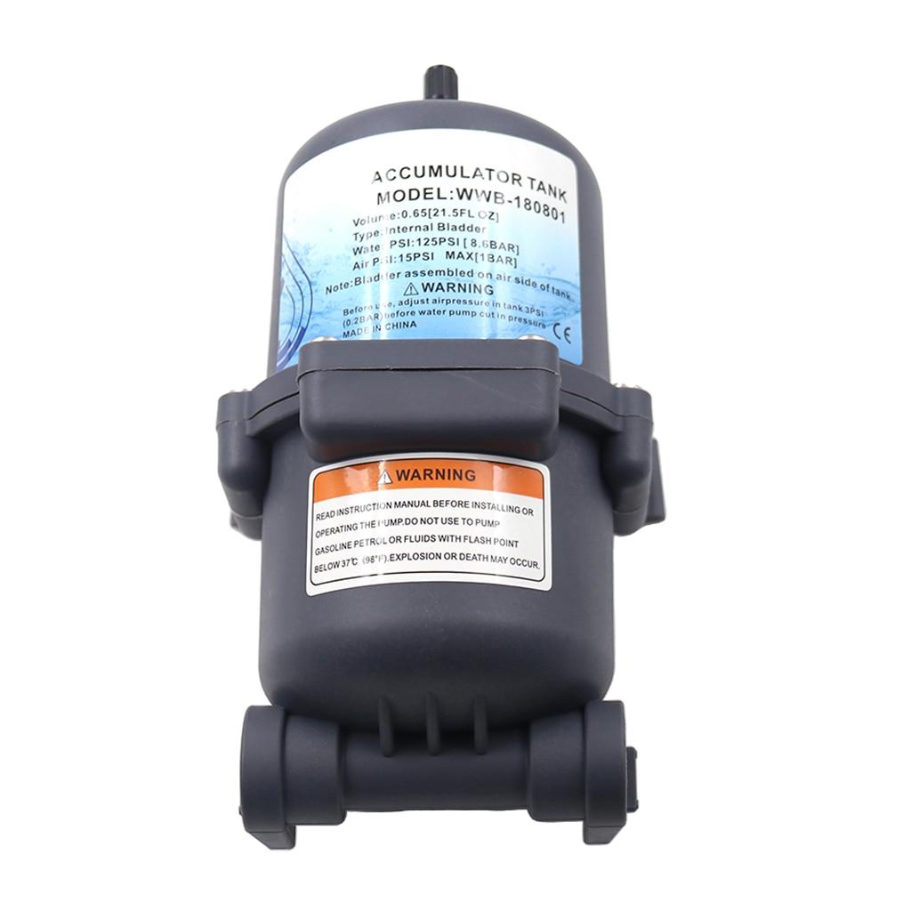 Marine RV Water Accumulator Tank Boat Water Pump Pressure Accumulator 0.75 L