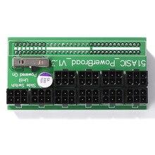 750W 1200W הבריחה לוח PSU כוח 10 יציאות PCIe 6 פינים עבור HP DPS 800GB A DPS 1200FB A DPS 1200QB A BTC כורה כרייה