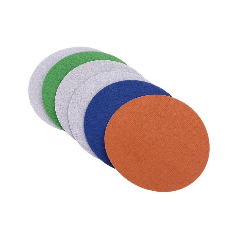 10pcs 125mm 2500/3000/4000/5000/7000/10000 Water Dry Wet Sanding Discs Back Velvet Self Adhesive Sand Paper