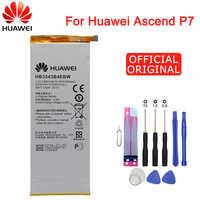 Hua Wei Original Telefon Batterie HB3543B4EBW für Huawei Ascend P7 L07 L09 L00 L10 L05 L11 2460mAh Ersatz Batterien kostenlose Tools