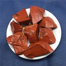 Minerals Chakra-Decor Tumbled-Stone Gift Rock Natural Crystal Rough Quartz Red Jasper