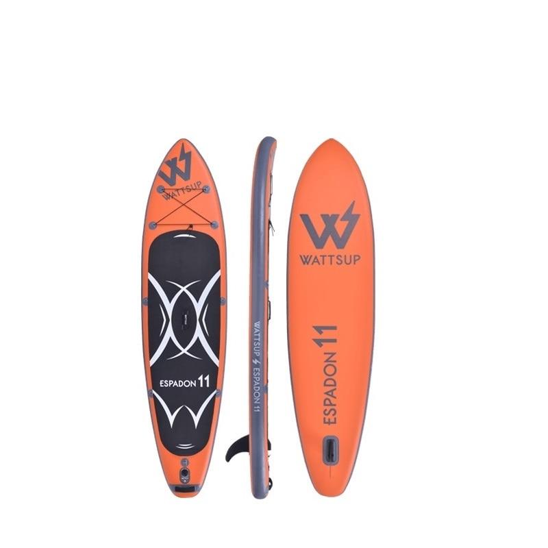 Surf gonflable debout Sup paddle board iSUP Surf Paddle board ESPADON11 réveil bateau bodyboard kayakboat taille 335*81*15cm