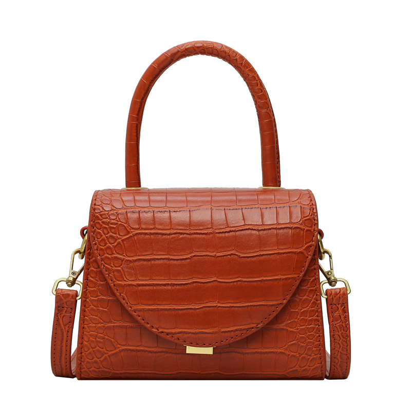 Image 5 - Stone Pattern PU Leather Crossbody Bags For Women 2019 Luxury Quality Shoulder Messenger Bag Lady Designer Handbags Totes-in Top-Handle Bags from Luggage & Bags