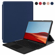 Tablet Case For New Surface Pro X 13 inch PU Leather Protective Cover Case