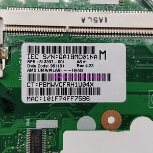 Image 3 - Genuine 613397 001 Scheda Madre Del Computer Portatile Mainboard per HP ProBook 6445b 6455b 6555b 6050A2356601 MB A02 NoteBook PC