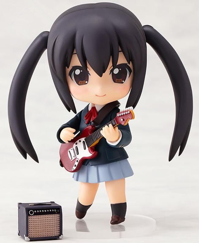 K-ON Nakano Azusa 104 Action Figure PVC Collection Model Toys Brinquedos For Christmas Gift