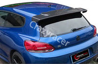 Scirocco Rear Roof Big Spoiler Wing for Volkswagen VW Scirocco Non R 08 14 Carbon Fiber