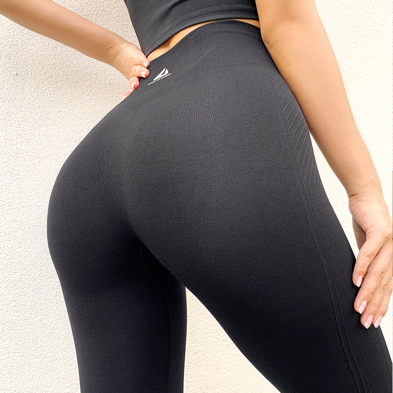 Yoga PantsEnergy Seamless High Waist Leggings Compression Workout Pants Tummy Control Gym Pants Booty Scrunch Fitness Pants 5