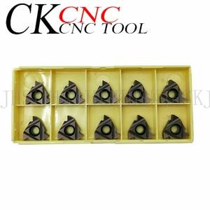 Image 4 - 10PCS MMT22IR N60 VP15TF MMT22ER N60 VP15TF 3.5 6mm Thread cutting carbide insert 22ER/22IR for Threading Turning Tool  SER /SNL