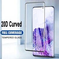 Funda completa templada de vidrio para Oneplus 8 8 Pro pantalla cristal Protector para Oneplus 7 Pro 7T película protectora Pro